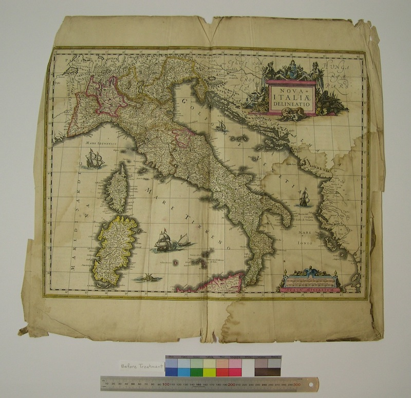 Blaeu Italy Before washing
